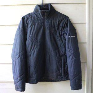 Columbia Black Weatherproof Puffer Jacket